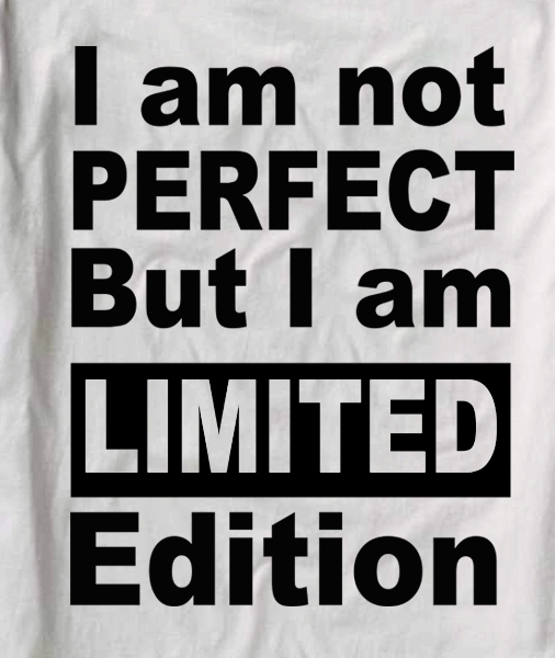i m not perfect